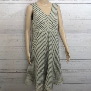 2/$39 Coldwater Creek Striped Sleeveless Dress